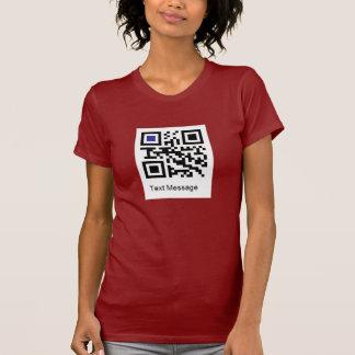 """QR code for """" I AM A LESBIAN """" T-shirts"""