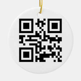 QR Code - Happy Holidays! Christmas Ornament