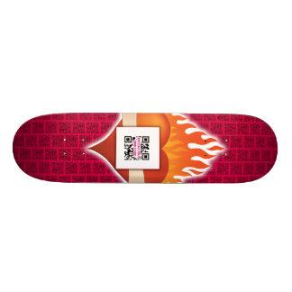QR Code Luv Skateboard