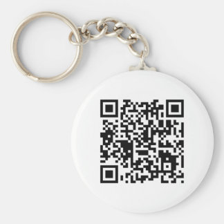 "qr code ""Point that phone somewhere else please"" Key Ring"