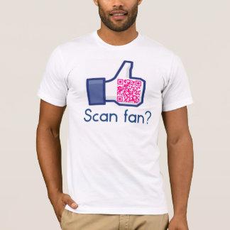 QR Code Scan Fan Tee