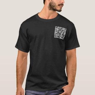 QR Code Shirt. T-Shirt