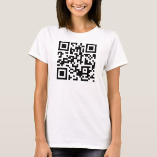 QR Code Shut Up And Kiss Me T-Shirt