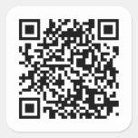 QR-Code Sticker/Aufkleber
