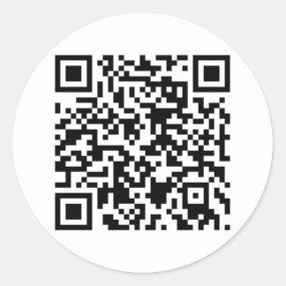 QR Code Stickers - Customizable