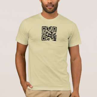 QR Code T-Shirt Template