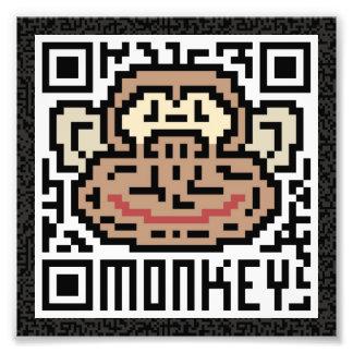 QR Code the Monkey Photo