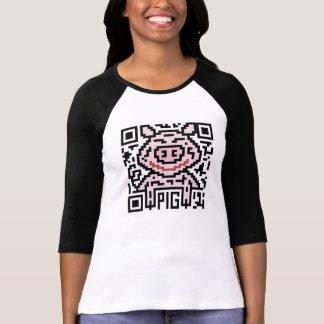 QR Code the Pig Tee Shirt