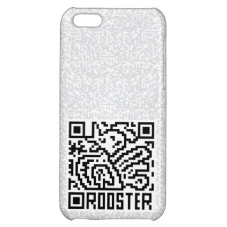 QR Code the Rooster iPhone 5C Case