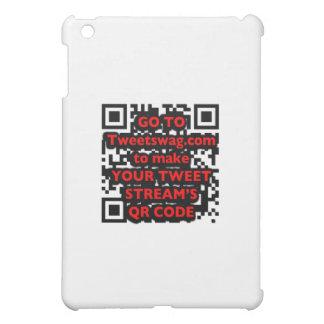 QR Code Twitter iPhone 4 Case iPad Mini Cover