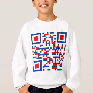 QR-Code-United-States-of-Am Sweatshirt