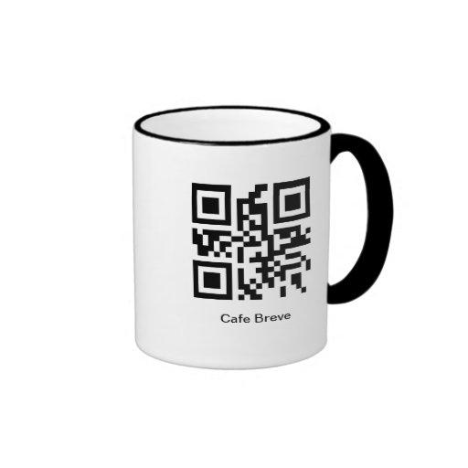 QR Coffee - Cafe Breve Mugs