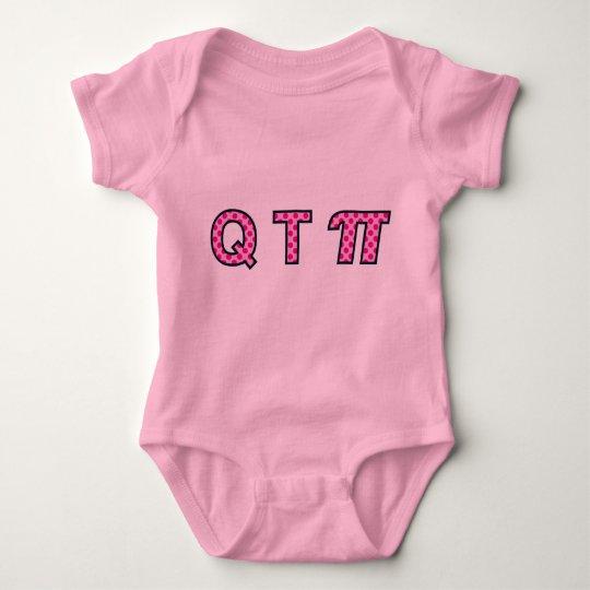 QTπ Girl Baby Bodysuit
