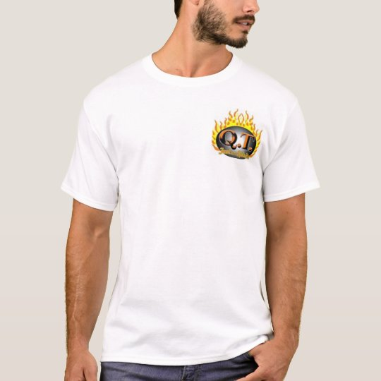 QT flame logo T-Shirt