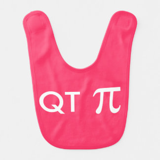 QT Pi Geeky Baby Bib