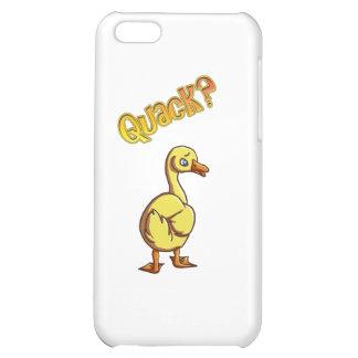 Quack? iPhone 5C Cases
