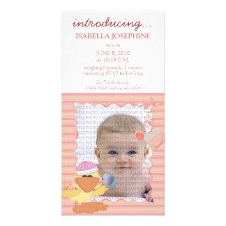 Quack Quack Baby Birth Announcement ::: 02 Photo Cards