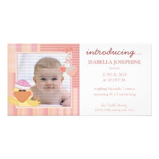 Quack Quack Baby Birth Announcement ::: 03 Photo Card