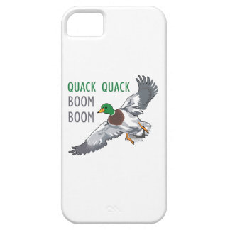 QUACK QUACK BOOM BOOM BARELY THERE iPhone 5 CASE