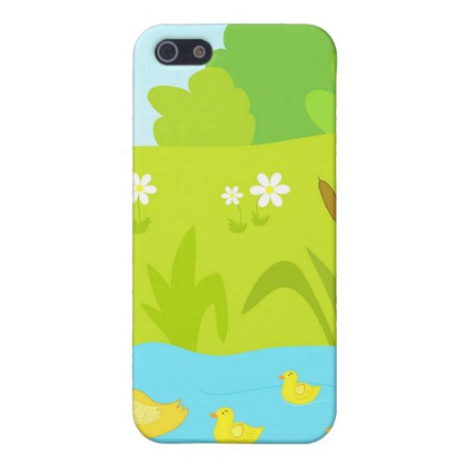 Quacking ducks cover for iPhone 5