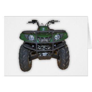 quad bike - atv card