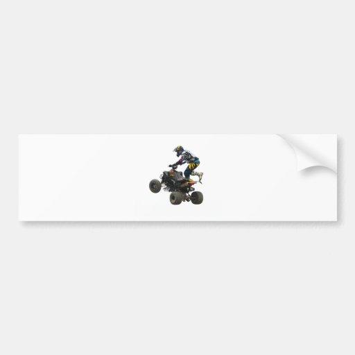 quad bike bumper sticker