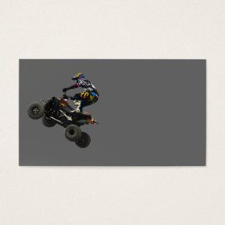 quad bike business card