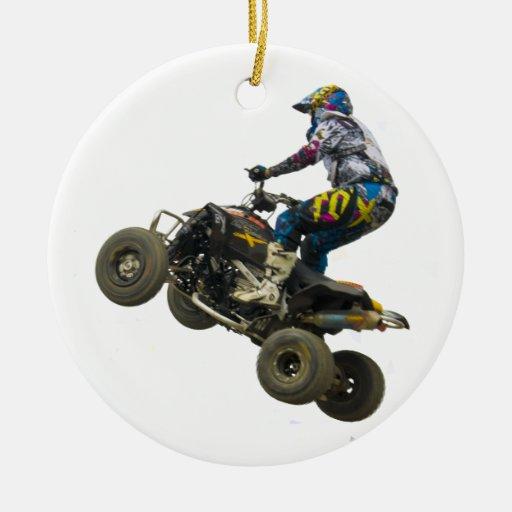 quad bike christmas ornaments
