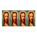 Quad Christ Post Card