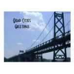 Quad Cities Greetings Postcard