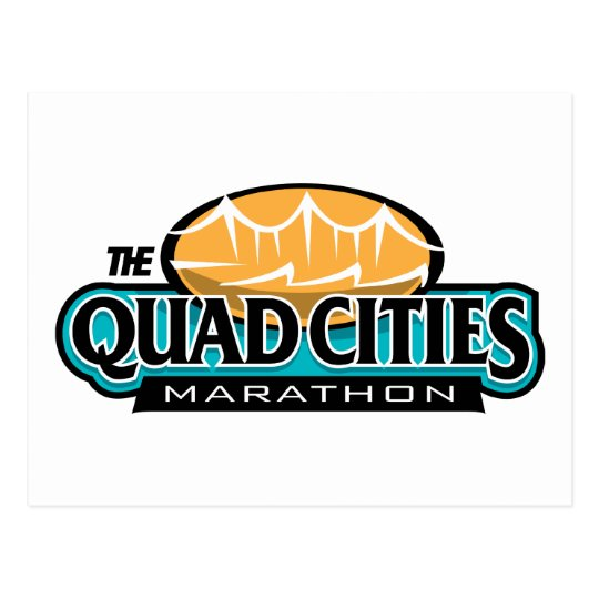 Quad Cities Marathon Postcard