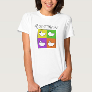 Quad Dipper (front only) T-shirts