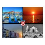 Quad pictures of Rovinj Post Cards