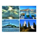 Quad pictures of Rovinj Postcards