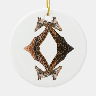 QUADGIRAFFEL CHRISTMAS ORNAMENT