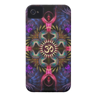 Quadra Angels Fractal Art Aum iPhone 4 Case-Mate
