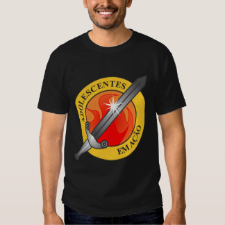 Quadrangular adolescent shirt