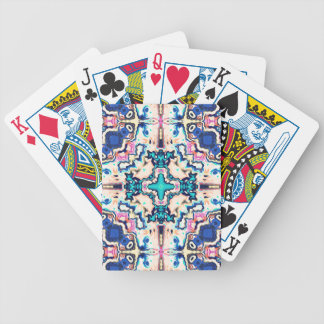 Quadrants of Color Bicycle Playing Cards