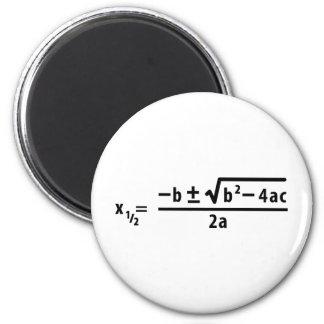 quadratic formula magnet