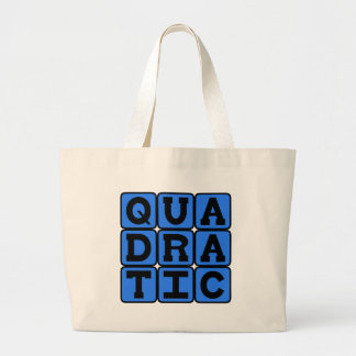 Quadratic Mathematical Equation Tote Bag