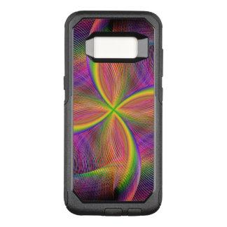 Quadratic rainbow OtterBox commuter samsung galaxy s8 case