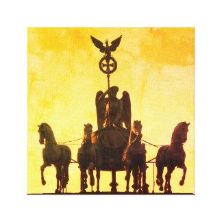 Quadriga Brandenburg Gate 001.1, Berlin Canvas Print