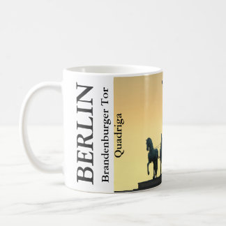 Quadriga Brandenburg Gate 001.4.T, Berlin Coffee Mug