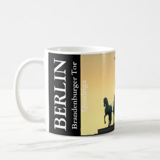Quadriga Brandenburg Gate 001.6.T, Berlin Coffee Mug