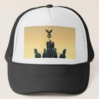Quadriga Brandenburg Gate 001, Berlin Trucker Hat