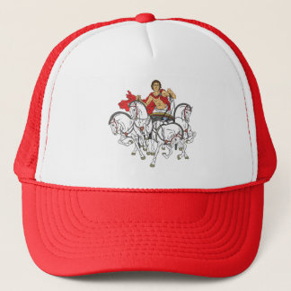 quadriga trucker hat