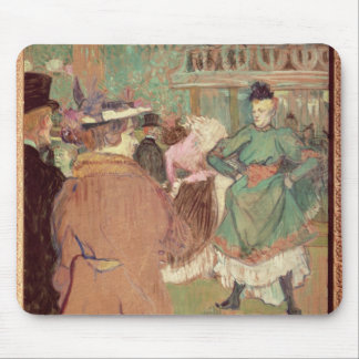 Quadrille at the Rouge, 1892 Mouse Pad