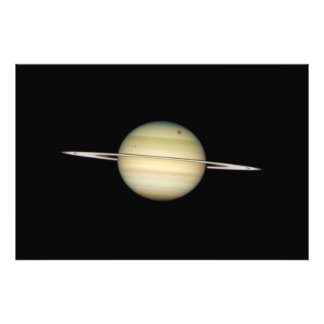 Quadruple Saturn Moons in Transit Photo Art