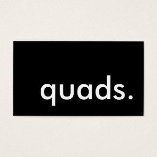 quads. business card