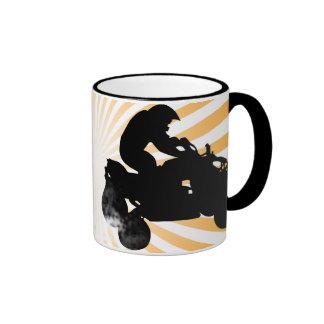 quads. ringer coffee mug